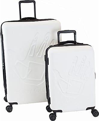 Body Glove Redondo 2 Piece Hardside Spinner Luggage Set White ad2bea92860a0