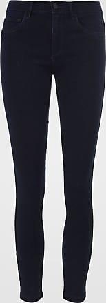 Only Calça Jeans Only Skinny Faixa Lateral Azul-Marinho