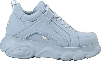 Buffalo Women Trainers CLD Corin, Ladies Low-Tops, Low Shoe,Street Shoe,Lacer,Sport Shoe,Platform Sole,Leisure,Light Blue,40 EU / 6.5 UK
