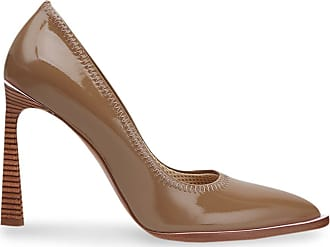 Fendi pointed-toe décolleté pumps - Brown