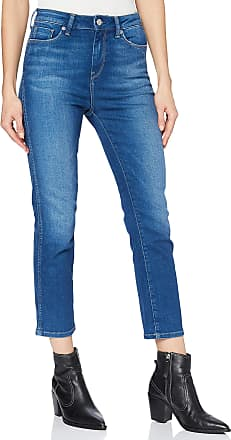 Pepe Jeans London Womens Dion 7/8 Slim fit Jeans, Blue (Dark Used 000), One (Size: W26/REGULAR)