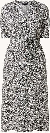 Whistles Femmes smocks joug Robe Chemise à manches longues rouge UK12 BNWT RRP160