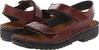 4d1ca4f988ec Naot Karenna (Luggage Brown Leather) Womens Sandals