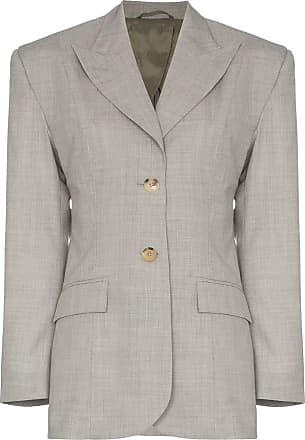 Wright Le Chapelain Blazer com abotoamento simples - Cinza