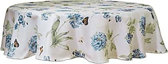 Lenox Butterfly Meadow Blue 70 Round Tablecloth