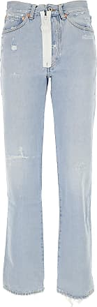 Off-white Jeans On Sale in Outlet, Denim, Cotton, 2017, 25