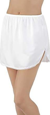 Vanity Fair Womens 360° Half Slip 11760, Star White, L (18 Length)