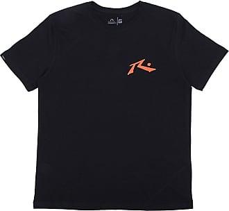 Rusty Camiseta Rusty Infantil Logo Preta