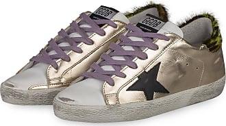 Golden Goose Sneaker SUPERSTAR - GOLD/ WEISS/ HELLGRÜN