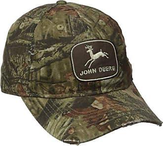 John Deere Embroidered Logo Baseball Hat - One-Size - Mens - Mossy Oak