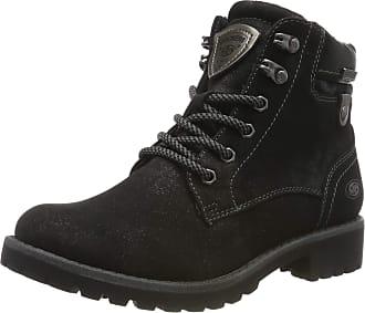 Dockers by Gerli 43fa307, Womens Combat Boots, Black (Schwarz/Dunkelgrau 122), 8 UK (41 EU)