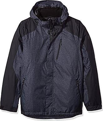 262db19aa469c ZeroXposur Mens Big and Tall Big   Tall Beacon Insulated Grid Dobby  Mid-Weight Jacket