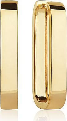 Sif Jakobs Jewellery Ohrringe Matera Pianura Grande - 18K vergoldet