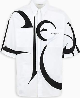 Givenchy Camicia oversize motivo calligrafico