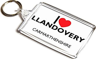 ILoveGifts KEYRING - I Love Llandovery - Carmarthenshire - Wales