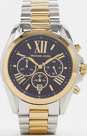 Michael Kors Bradshaw mix metal bracelet watch MK5976-Multi