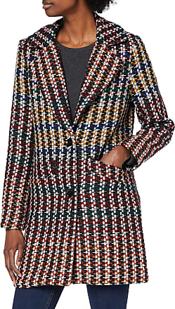 Only Womens Onlmelrose Wool Coat OTW, Multicolour (Sun-Dried Tomato Checks: Multicolor), 14 (Size: Large)