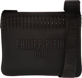 Philipp Plein Shoulder Bag With Logo Mens Black