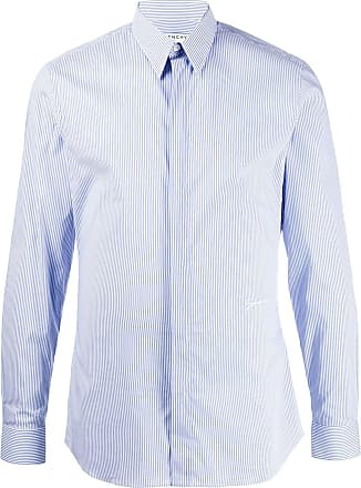 Givenchy Camisa com abotoamento frontal - Azul