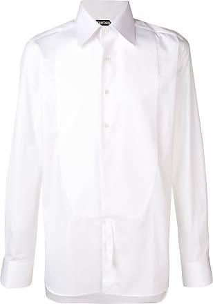 Tom Ford Camisa de popeline - Branco