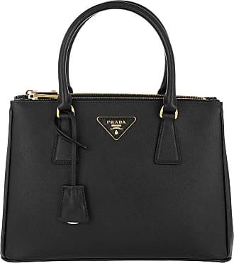 73b3f1161a691 Prada Galleria Tote Bag Medium Nero Tote schwarz