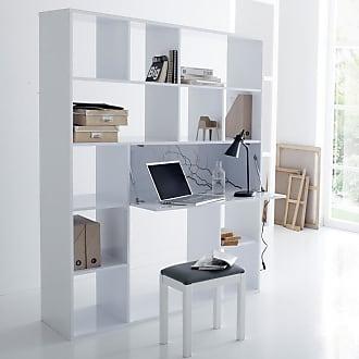 La Redoute Interieurs Bücherregal mit Schreibtisch Newark - WEISS - LA REDOUTE INTERIEURS