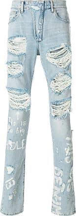 Ih Nom Uh Nit Calça jeans destroyed - Azul