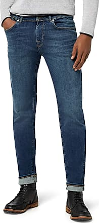 Selected Homme Mens Shnslim-Leon 1004 M.Blue St JNS Noos Slim Jeans, Blue (Medium Blue Denim), W38/L34 (Size: 38)