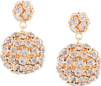 Jennifer Behr Par de brincos com esferas pendentes - Dourado