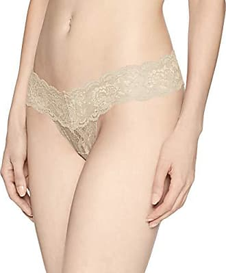 7ae3ac122054 Cosabella Womens Plus Size Say Never Cutie Lowrider Thong, Luxe Sand Medium/ Large