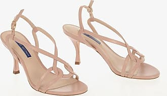 Stuart Weitzman Leather CLARICE 75 Sandals 7.5 cm size 36,5