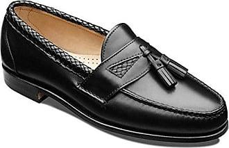 8d6864129dc Allen Edmonds Mens Maxfield Tassel Loafer 12 3A Men 47711 Black Loafers  Shoes