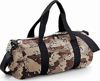 BagBase Camo Barrel Bag - Jungle Camo