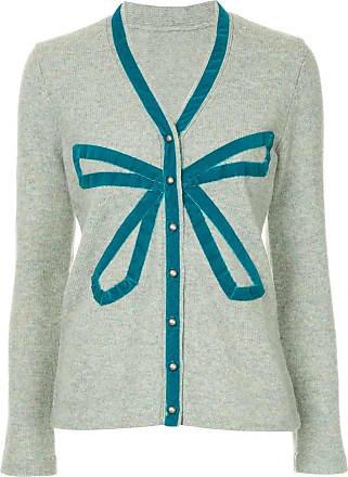 Onefifteen bow detail cardigan - Grey