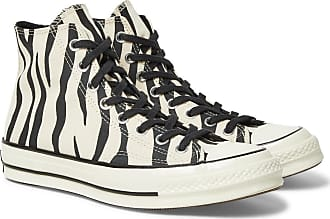 77c37a0665a6 Converse 1970s Chuck Taylor All Star Zebra-print Canvas High-top Sneakers -  Off