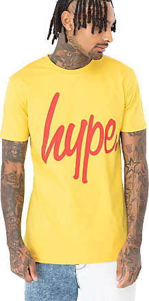 Hype Mango Pink Script Mens T-Shirt M