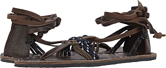 Free People La Jolla Wrap Sandal Chocolate 40 (US Womens 10) M