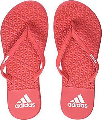 buy popular 652a1 62121 adidas Damen Eezay Soft Dusch- Badeschuhe, Mehrfarbig (Real CoralReal  Coral