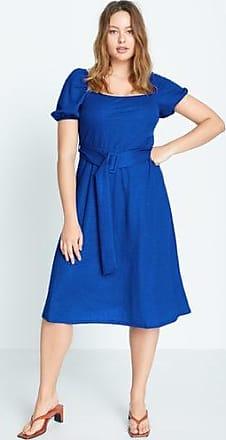 Violeta by Mango Belt midi dress