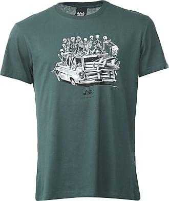 ...Lost Camiseta...Lost Skull Car Verde