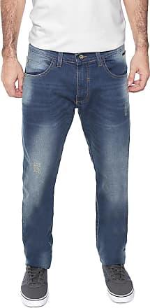Fatal Surf Calça Jeans Fatal Slim Desgastes Azul