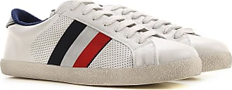 Moncler Sneakers for Men On Sale, White, Leather, 2019, 6.5 7 7.5 8.5 9 9.5