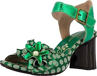 Laura Vita Ficdjio 11 Womens Fashion Sandals, schuhgröße_1:40, Farbe:Green