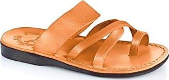 Jerusalem Sandals Mens Abner Molded Footbed Slide Sandal
