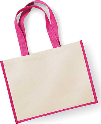 Westford Mill Printers Jute Cot Shopper Colour=Fuchsia Size=O/S