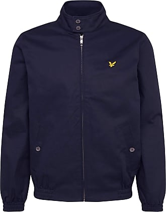 Lyle & Scott Lyle and Scott Men Harrington Jacket - Cotton - XS Dark Navy