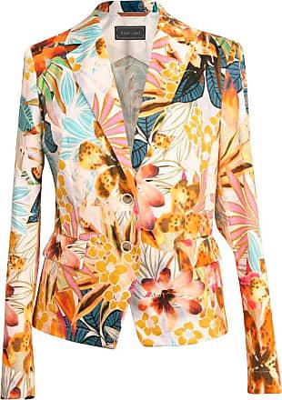White Label Blazer mit Blumenprint