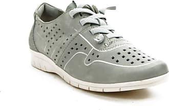 Jana Casual Shoe for Women Grey Size: 8.5 UK
