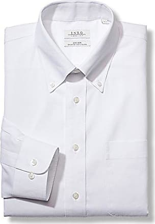 Enro Mens Size Slim Fit Big-Tall Solid Spread Collar Dress Shirt