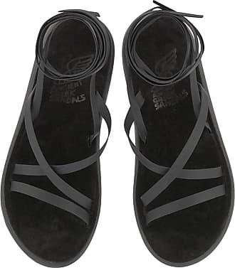 Ancient Greek Sandals Morfi Comfort Black